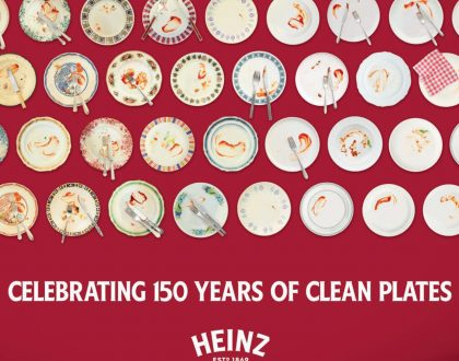 Heinz celebrates '150 years of clean plates' in anniversary campaign