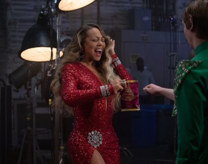 Mariah Carey stars in Walkers' biggest Christmas push